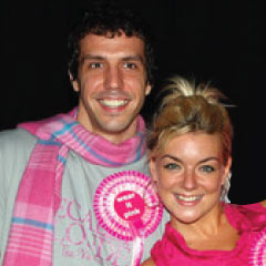 Alex Gaumond and Sheridan Smith in their Legally Blonde days