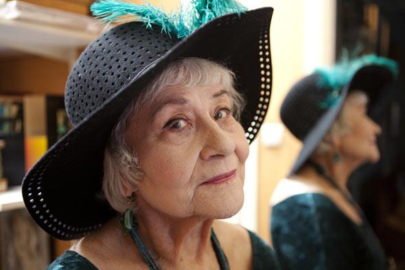 BLANCHE MARVIN. Photo: Nancy Honey - 100 Leading Ladies