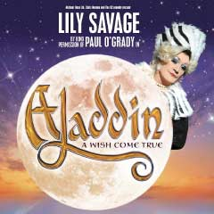 Aladdin – A Wish Come True at The Theatre at the O2 starring Lily Savage
