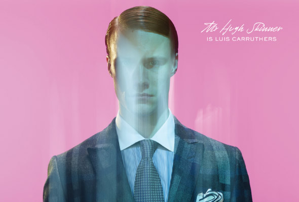 Hugh Skinner as Luis Carruthers in American Psycho