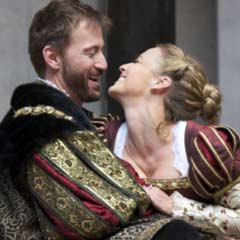 Anthony Howell and Miranda Raison in the 2010 production of Anne Boleyn