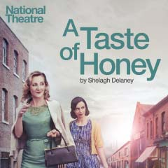Lesley Sharp and Kate O'Flynn in A Taste of Honey