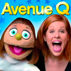 Kate Monster and Cassidy Janson in Avenue Q