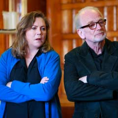 Rehearsal Photos: Bakersfield Mist starring Kathleen Turner and Ian McDiarmid