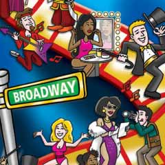 "New board game ""Be a Broadway Star"""
