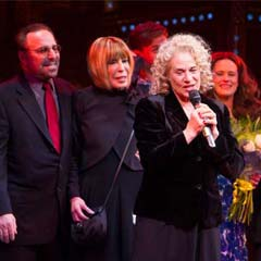 Carole King interview at the opening night of Beautiful – The Carole King Musical.