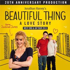 Beautiful Thing at the Arts Theatre starring Suranne Jones
