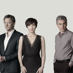 Douglas Henshall, Kristin Scott Thomas and Ben Miles in Betrayal