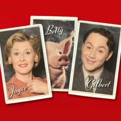 Stars of Betty Blue Eyes Sarah Lancashire and Reece Shearsmith