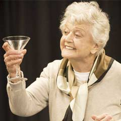 Angela Lansbury, in rehearsal for Blithe Spirit at the Gielgud Theatre. Photo: Johan Persson