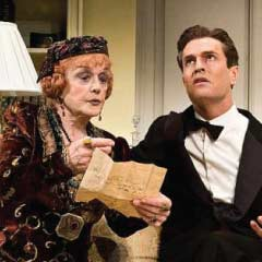 Angela Lansbury and Rupert Everett in the 2009 Broadway production of Blithe Spirit