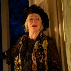 Alison Steadman as Madame Arcati in Blithe Spirit