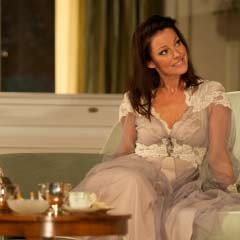 Ruthie Henshall in Blithe Spirit at the Apollo Theatre