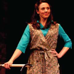 Melanie C in Blood Brothers