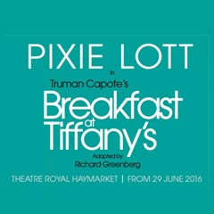 Breakfast at Tiffany's at the Theatre Royal Haymarket