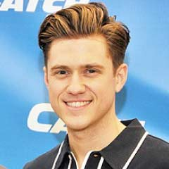 Aaron Tveit, star of Catch Me If You Can