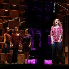 Jessie Mueller in the Broadway production of Beautiful
