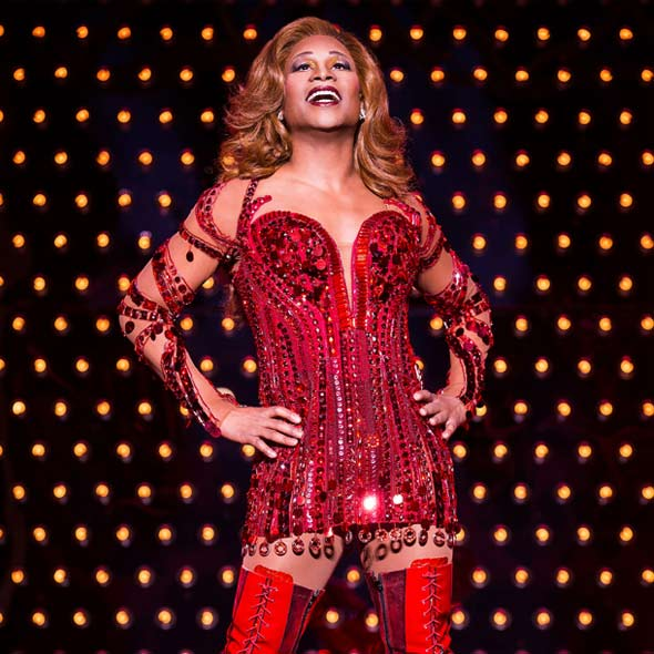 Billy Porter in Kinky Boots on Broadway