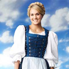 Carrie Underwood in The Sound of Music Live!