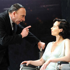 Antony Sher and Tara Fitzgerald in Broken Glass