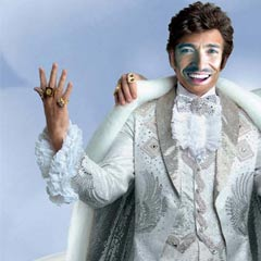 Hugh as Liberace?