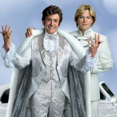 Michael Douglas and Matt Damon in Liberace movie Behind The Candelabra