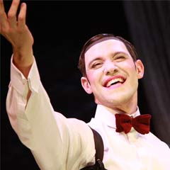 Will Young in Cabaret at the Savoy Theatre. Photo: Roy Tan