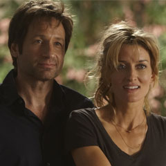 David Duchovny and Natsacha McElhone in Showtime series Californication