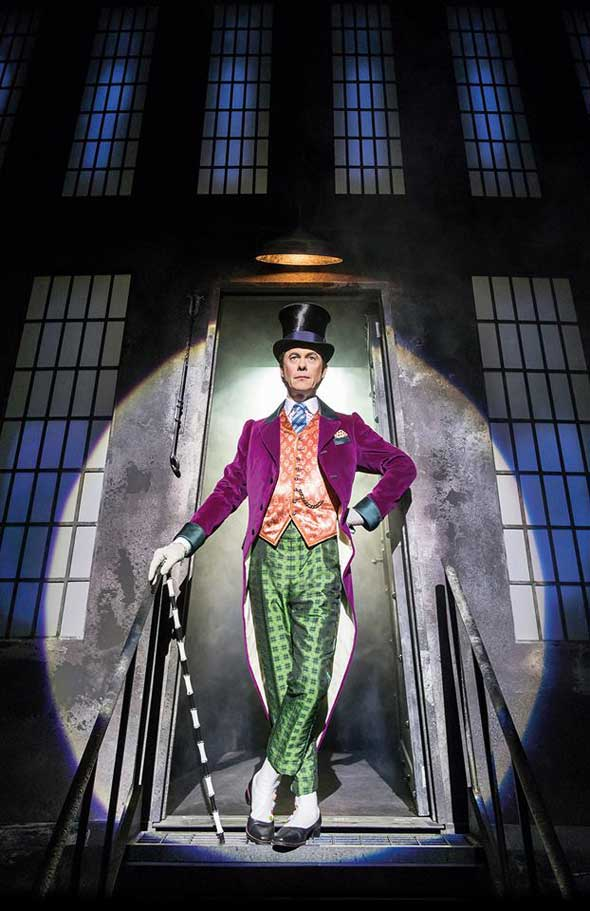 Alex Jennings as Willy Wonka in Charlie and the Chocolate Factory