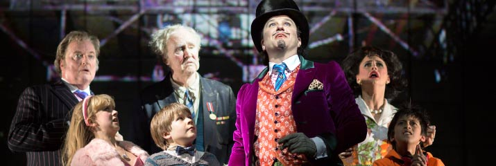 Charlie and the Chocolate Factory at the Theatre Royal Drury Lane