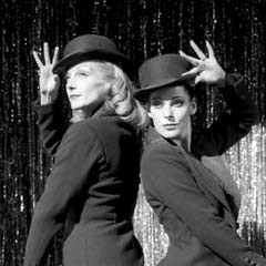Ute Lemper and Ruthie Henshall in the original London cast of Chicago