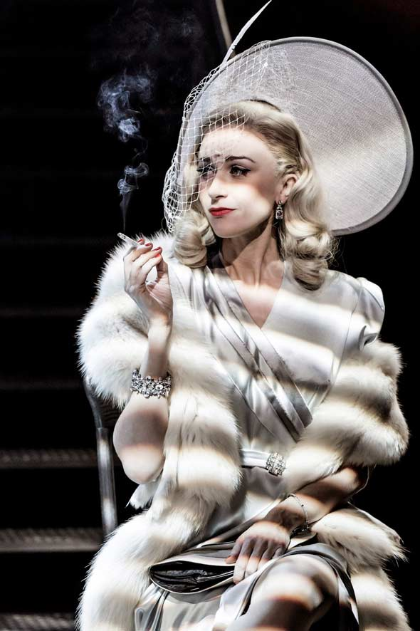 Katherine Kelly as Carla/Alaura in City of Angels. Photo: Johan Persson