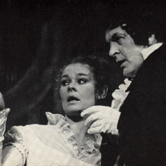 Donald Sinden and Judi Dench in Twelfth Night