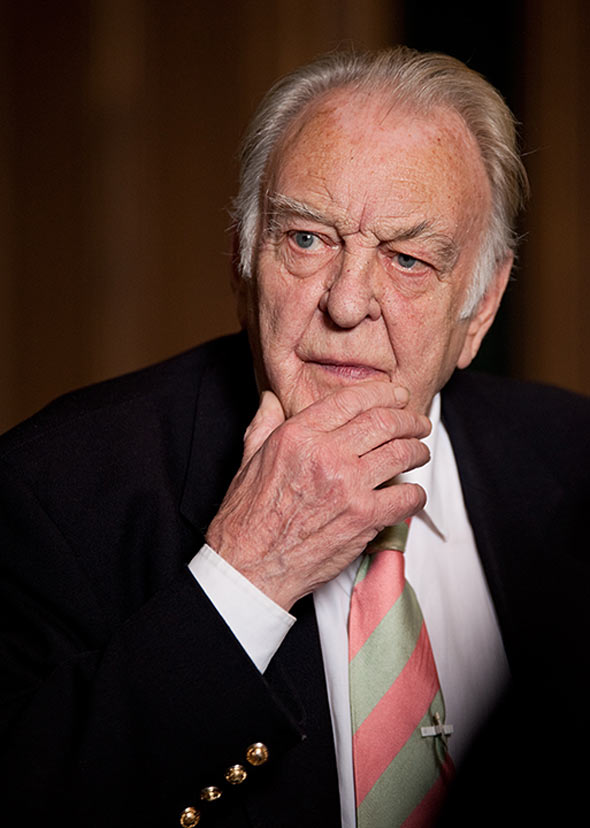Sir Donald Sinden. Photo © 2010 Patrick Baldwin (www.patrickbaldwin.com)