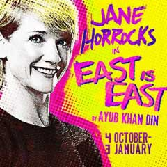 East is East at the Trafalgar Studios starring Jane Horrocks