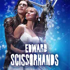 Edward Scissorhands at the Sadler's Wells Theatre
