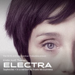 Electra at the Old Vic Theatre starring Kristin Scott Thomas