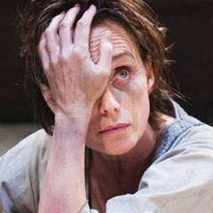 Kristin Scott Thomas in Electra at the Old Vic. Photo: Tristram Kenton