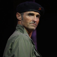 Marti Pellow in Evita at the Dominion Theatre. Photo: Roy Tan