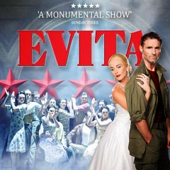Competition: Win tickets to Evita at the Dominion Theatre
