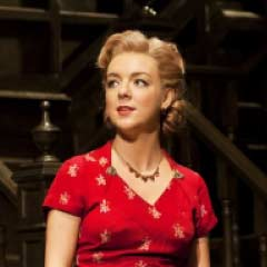Best Actress winner Sheridan Smith as Doris in Flare Path