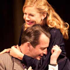 Sienna Miller and James Purefoy in Flare Path