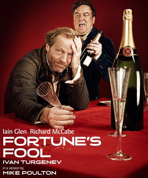 Poster for Fortune's Fool at the Old Vic