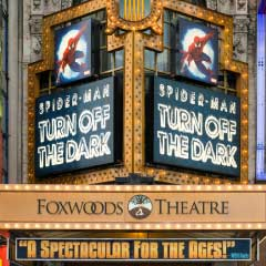Foxwoods Theatre, current home of Spider-Man: Turn Off The Dark