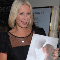 Denise Van Outen at the press night for Ghost The Musical