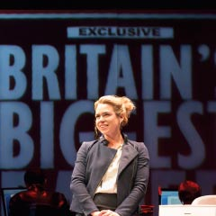 Billie Piper in Great Britain