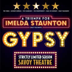 Gypsy at the Savoy Theatre starring Imelda Staunton