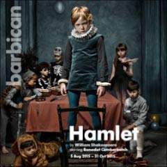Hamlet starring Benedict Cumberbatch at the Barbican Theatre