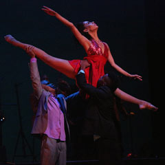 Havana Rakatan at the Peacock Theatre. Photo: Roy Tan
