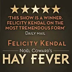 Hay Fever at the Duke of York's Theatre starring Felicity Kendal